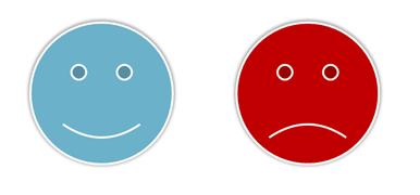 bad mood good mood template PowerPoint
