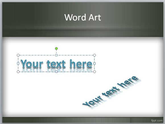 is wordart feature in powerpoint?, Powerpoint templates