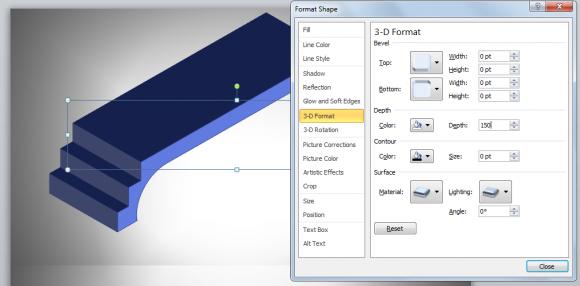 3d bridge diagram powerpoint using shapes bridges ccuart Gallery