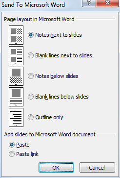 export powerpoint pdf with notes