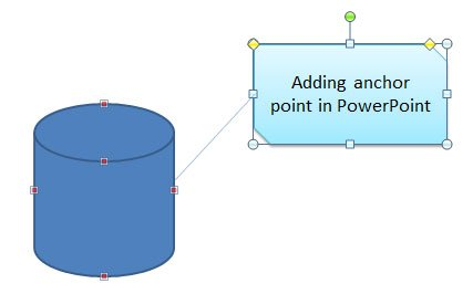 Adding custom anchor points in powerpoint 2010 now we are going to edit the anchor point and add a new anchor point in one of the vertext of the db database diagram ccuart Image collections