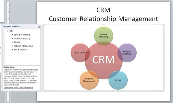 Customer relationship management diagram in powerpoint ccuart Choice Image