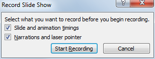 timing powerpoint