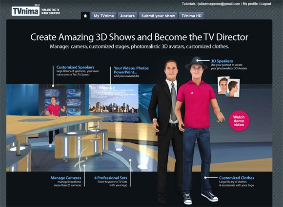 Be a show director with your own presentation speeches with tvnima for example you can be part of the most popular tv shows in usa and create a 3d show to host your presentation toneelgroepblik Gallery