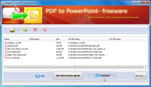 Convert PDF Files To PowerPoint Presentations With PageFlip