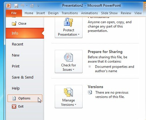 How To Recover Unsaved Powerpoint Data Tip
