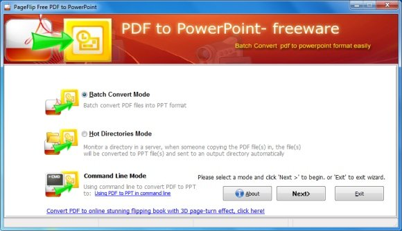 Convert PDF to PPT online & free