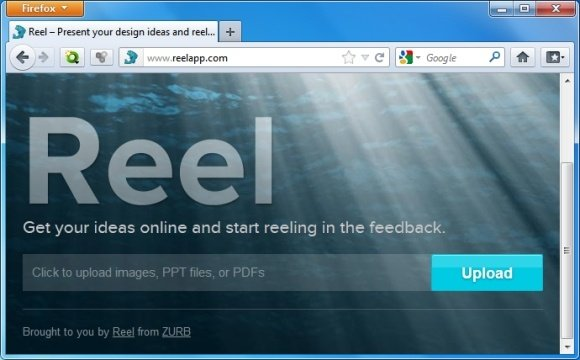 share powerpoint presentations online with reel web app