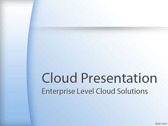 cloud ppt