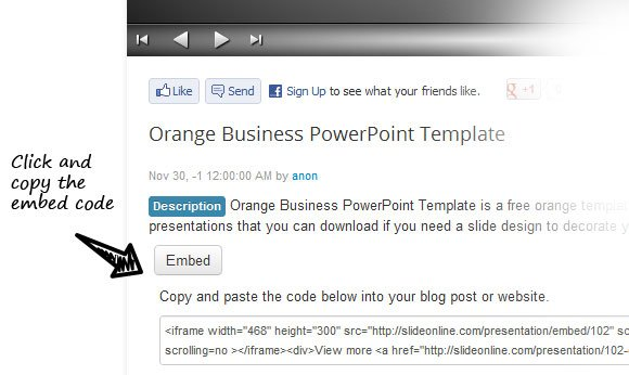 how to add website into powerpoint