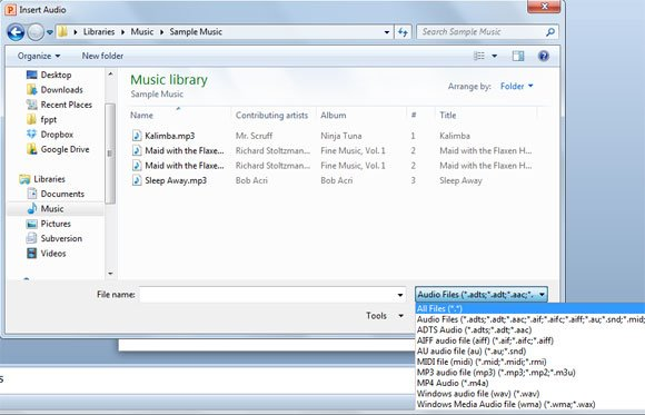 How to insert music into powerpoint presentation