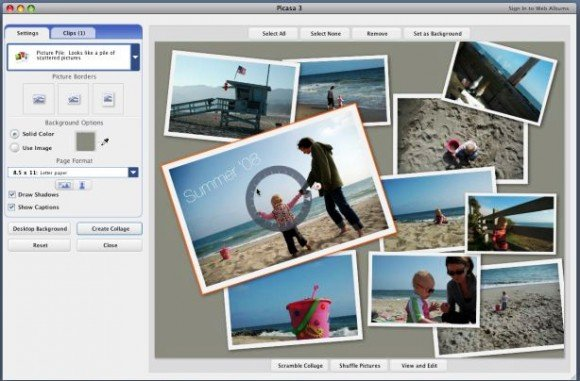 Picasa photo editor and album if you already use picasa to organize your photos you can also embed photos from picasa in powerpoint using different approaches first you can export the toneelgroepblik Images