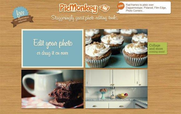 PicMonkey: Image editing software