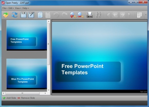 open files from 100 formats including powerpoint with open freely