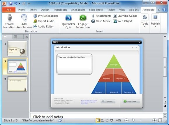 Create Awesome E-learning Courses In MS PowerPoint With Articulate ...