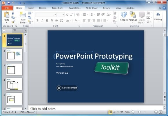 Powerpoint prototyping toolkit create ui designs and wireframes in this is followed by slides containing a range of frames windows presets a start bar and windows control buttons you can use these various items to add toneelgroepblik Gallery