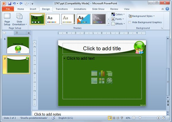 how to revert to a blank template in powerpoint, Modern powerpoint