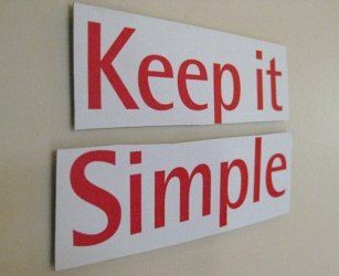 kiss, keep it simple stupid