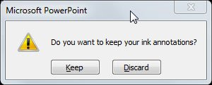 Annotation Pen in PowerPoint