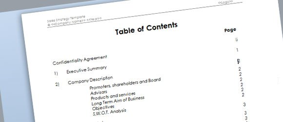 strategy template for microsoft word, Powerpoint templates