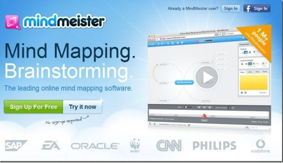 Collaborate Online And Create Mind Maps With MindMeister