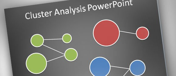 How to make a simple Cluster Analysis Diagram in PowerPoint 2010