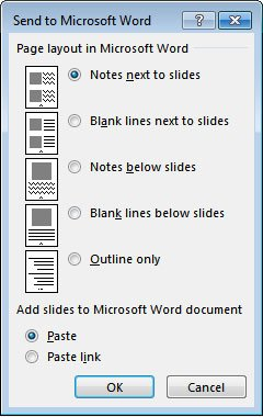 powerpoint handout template - speaker notes in powerpoint 2013 revisited