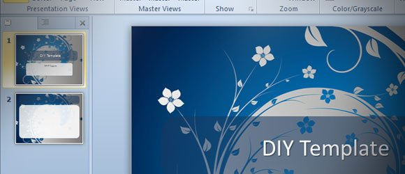how to make a powerpoint template in ms powerpoint 2010 (diy), Powerpoint templates