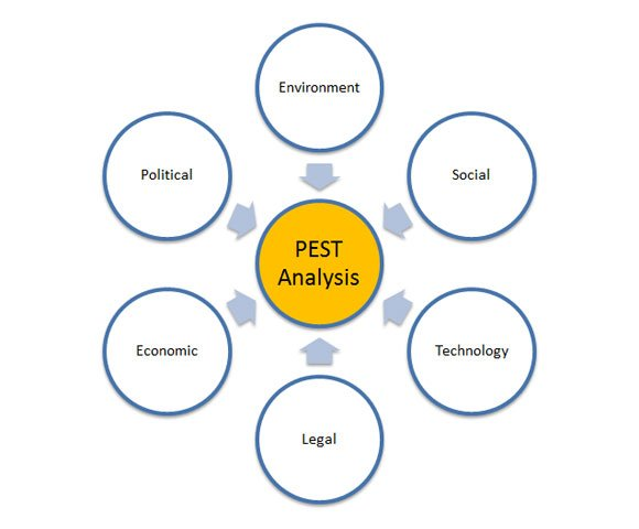 how to make a pest diagram in powerpoint