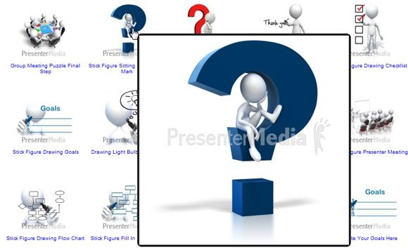 3d Cliparts For Powerpoint Templates And Backgrounds