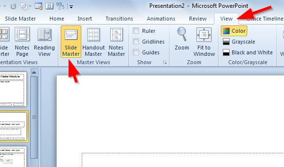 how to make a powerpoint template in ms powerpoint 2010 (diy), Modern powerpoint