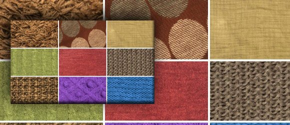 Texture Textile background for PowerPoint presentations