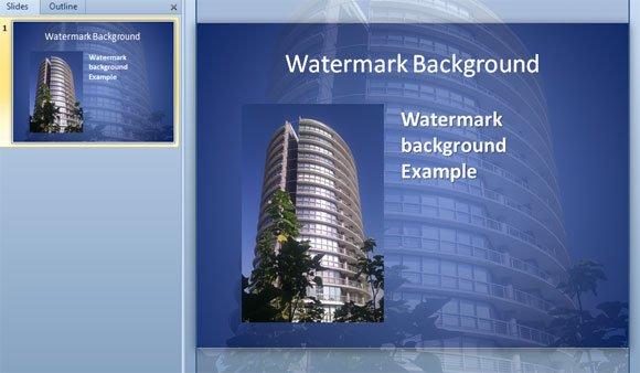 Watermark PPT