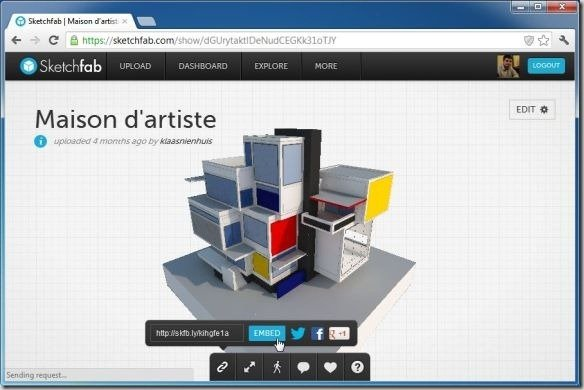 Share 3D Content And Create Professional Portfolio Using
