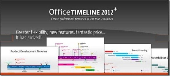 create powerpoint timelines in just 2 minutes with office timeline, Modern powerpoint