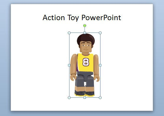 action figure toys for presentations, Powerpoint templates