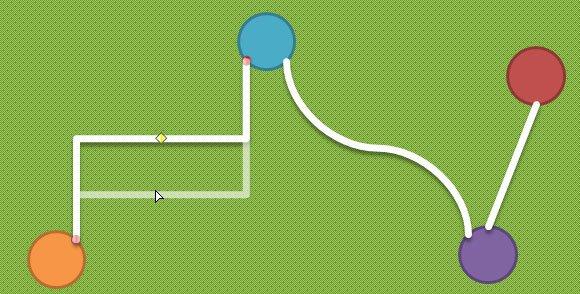 adjust curve connector