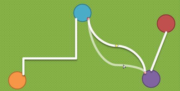 adjust curvature powerpoint lines