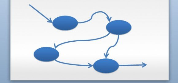 Data flow diagram in powerpoint.