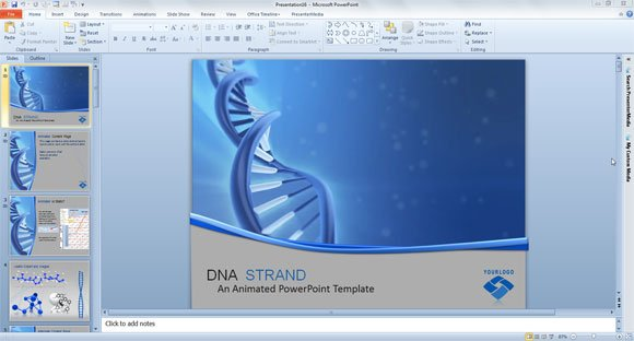 Premium free powerpoint templates and backgrounds for medical dna helix ppt template toneelgroepblik Image collections