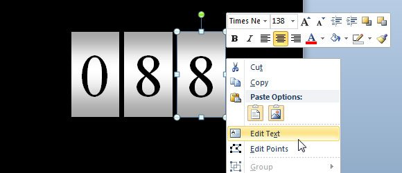 odometer ppt template