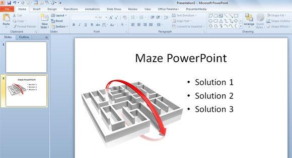 maze ppt