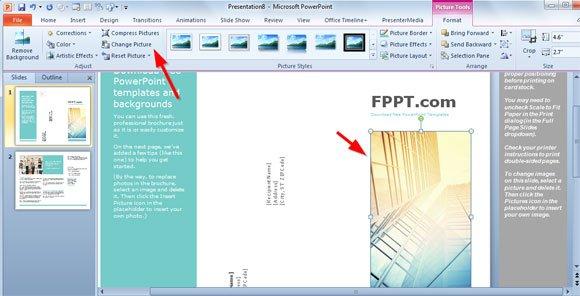 microsoft powerpoint brochure template