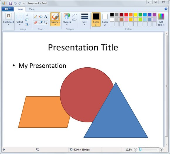 How to convert a powerpoint presentation to a vector image vector powerpoint ccuart Image collections