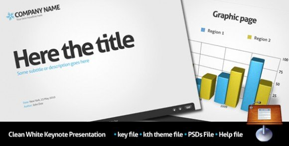 10 cheap and awesome keynote templates for presentations, Powerpoint templates