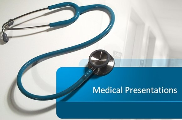 Free Medical Stethoscope Powerpoint Template