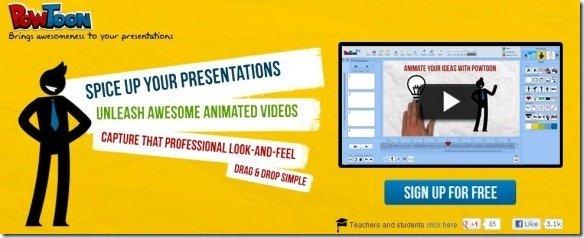PowToon Create Animated Presentations Online