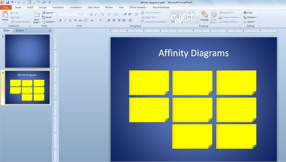 Affinity Diagrams Powerpoint