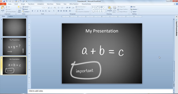 using powerpoint to prepare lesson plans, Presentation templates