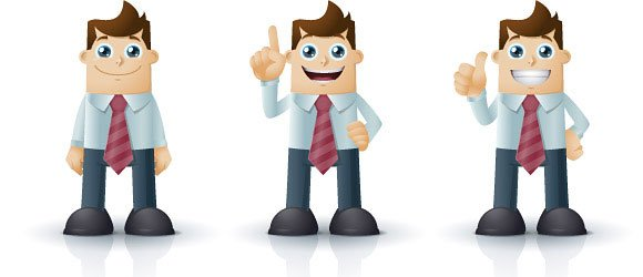 Animated avatars for powerpoint presentations cartoon characters business toneelgroepblik Gallery